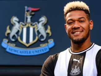Joelinton presented at Newcastle