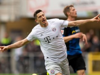 Lewandowski scored his 10 goal of the season