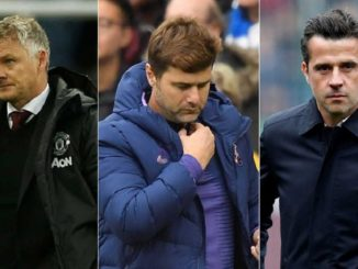Ole, Pochettino and Silva, who will be sacked first?