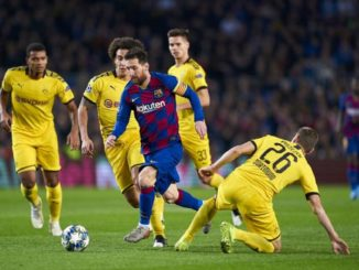 Messi scored in his 700th appearance for Barcelona. Credits: Quality Sport Images/Getty Images