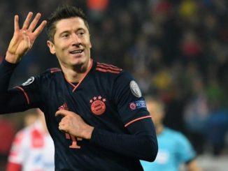 Lewandowski quadruple makes him turn into the the quickest player to score 4 (14 minutes)
