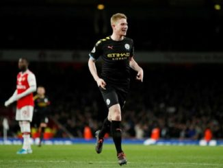 De Bruyne against Arsenal