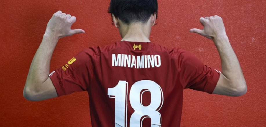 Minamino Liverpool new number 18