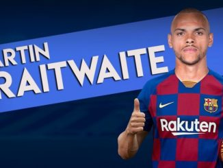 Braithwaite signs for Barcelona