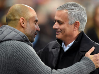 jose mourinho and guardiola