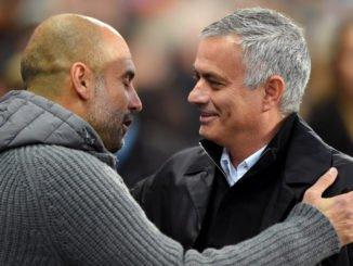 jose mourinho and guardiola