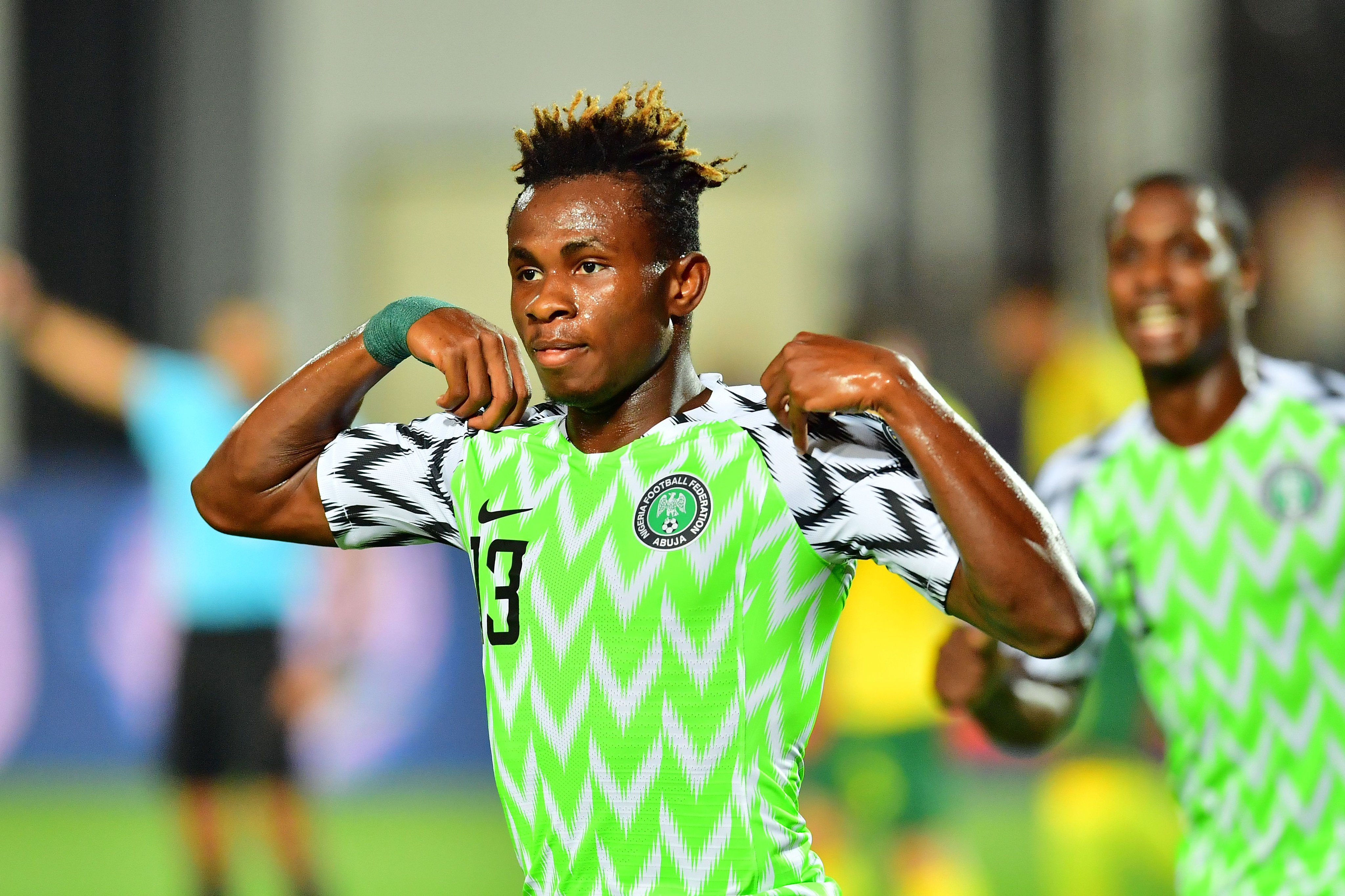 Chukwueze South Africa July 2019