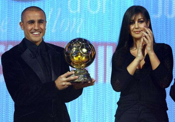 fabio cannavaro ballon D'Or